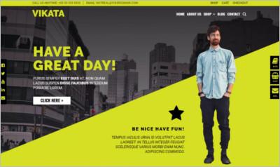 Vikata WordPress Theme - Free Download