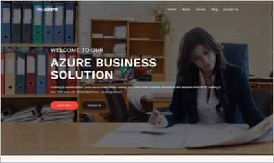 Wpazure WordPress Theme - Free Download