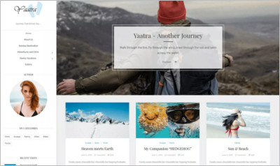Yaatra WordPress Theme - Free Download