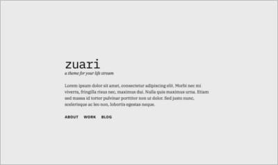 zuari WordPress Theme - Free Download