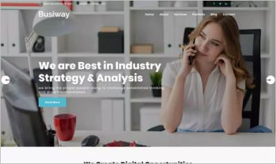 Busiway WordPress Theme
