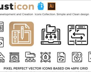 Development Creation Icons