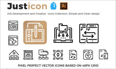 Development Creation Icons