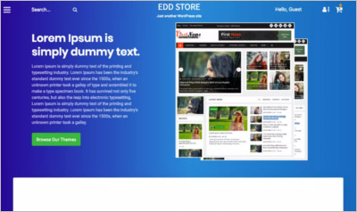 Relic EDD Store WordPress Theme - Free Download