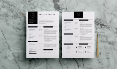 Resume Template 3Page CV Template - Free Download