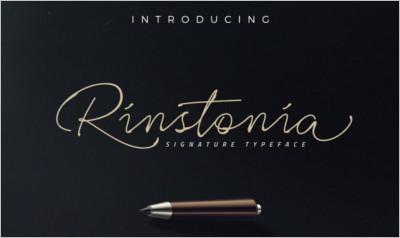 Rinstonia Signature - Free Download