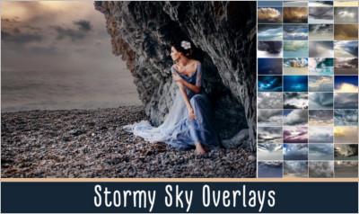 Stormy Sky Overlays
