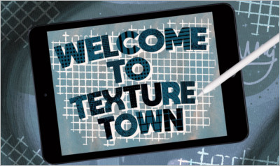 Texture Town Brush Set