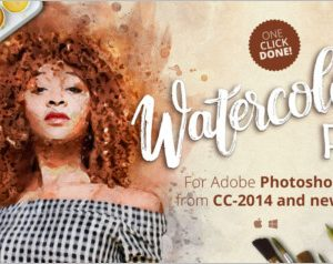 Watercolor FX Photo effect plugin
