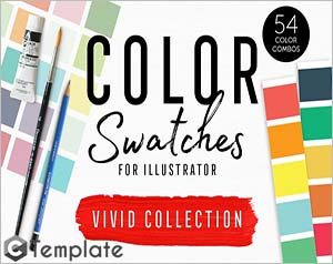Color Swatches Vivid Collection