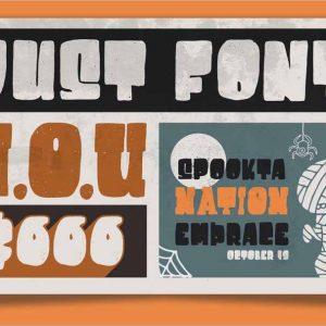 Destone Styled Font 1