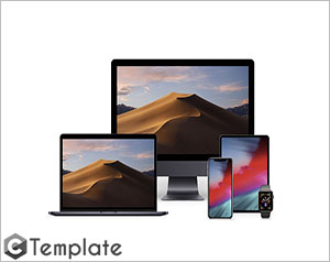 12 Devices Mockups