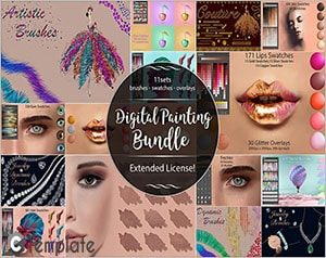 Digital Painting Bundle