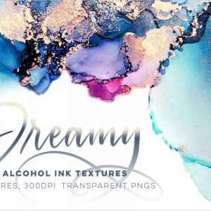 Dreamy Ink Textures 1