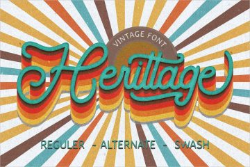Herittage Font