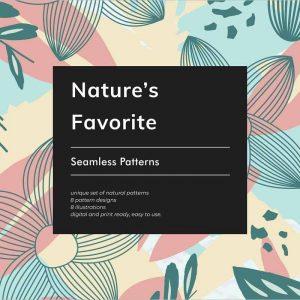Nature's Favorite Seamless Patterns