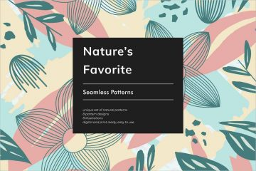 Nature's Favorite Seamless Patterns