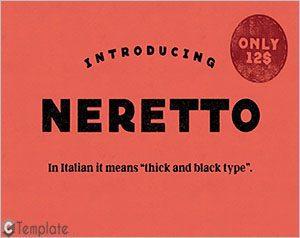 Neretto Sans Font