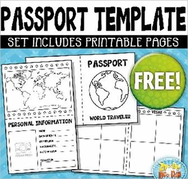 Passport Template Example