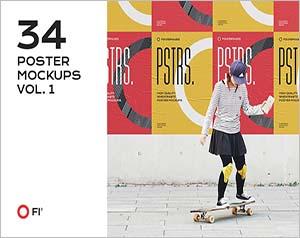 Poster Mockup Bundle