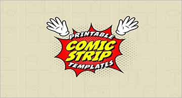 Printable Comic Strip Templates