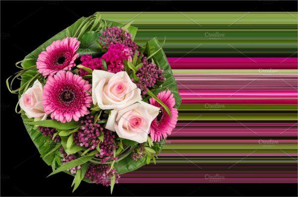 Roses flowers decoration bouquet