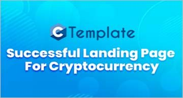 Successful Landing Page For Cryptocurrency