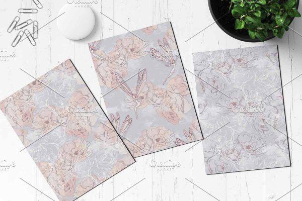 Textile patterns Fairytale 1