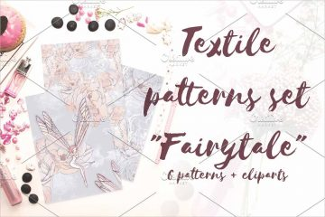 Textile patterns Fairytale Pattern
