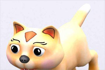 Toonpets animals 3D Cat