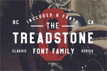 Treadstone Font Family