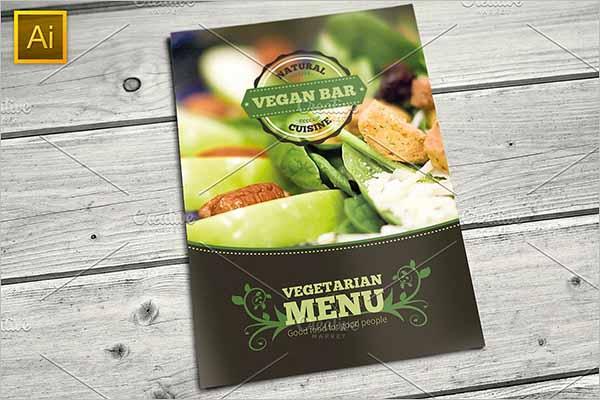 Vegetarian Restaurant Flyer Design