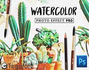Watercolor Photo Effect Pro