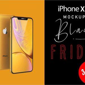 iPhone XR Mockup