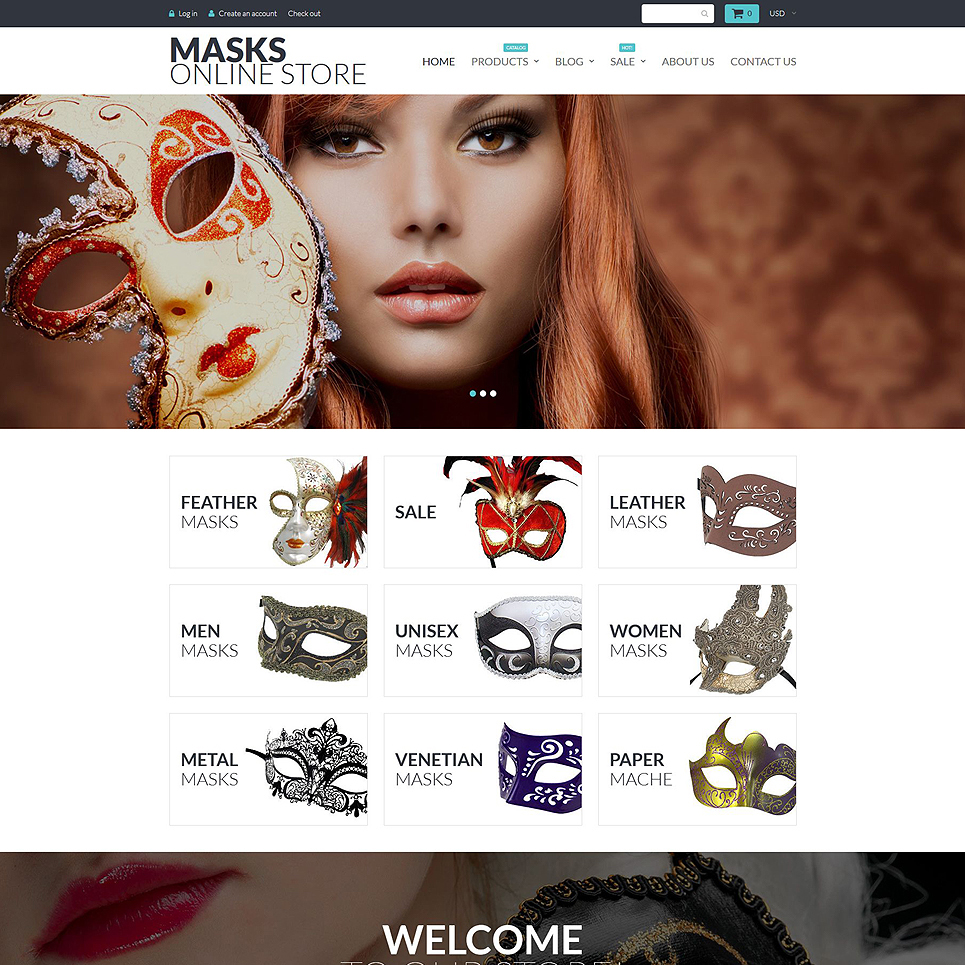 Entertainment Shopify Theme