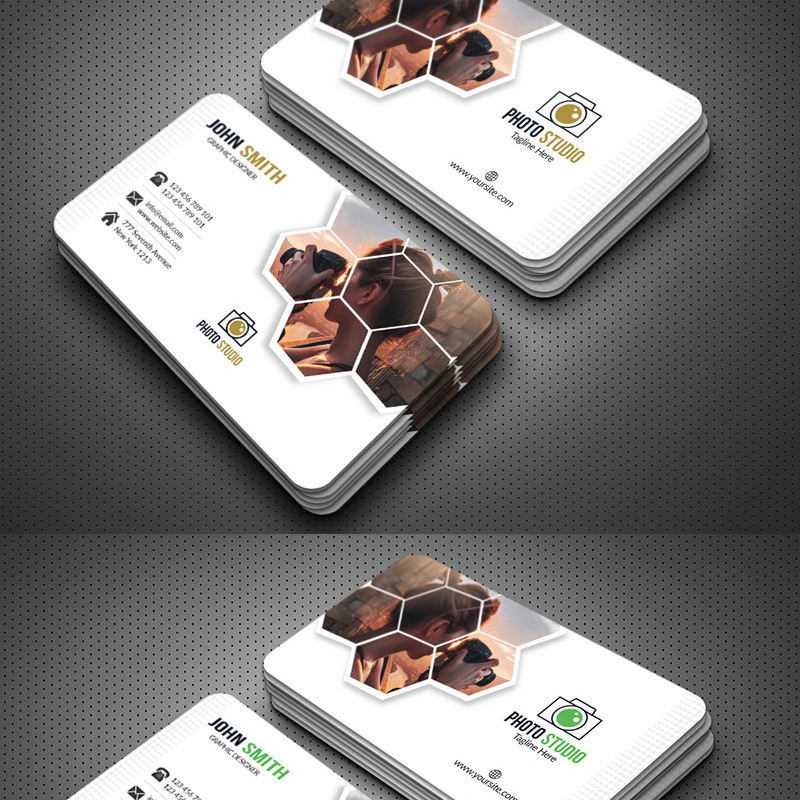 Photography Business Card Corporate Identity Template