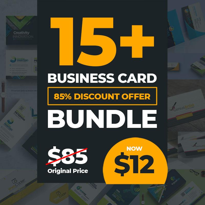 17 Business Card Bundle Corporate Identity Template
