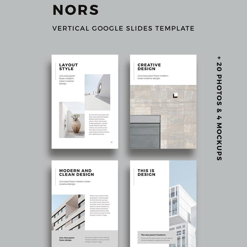 NORS - Vertical Google Slides