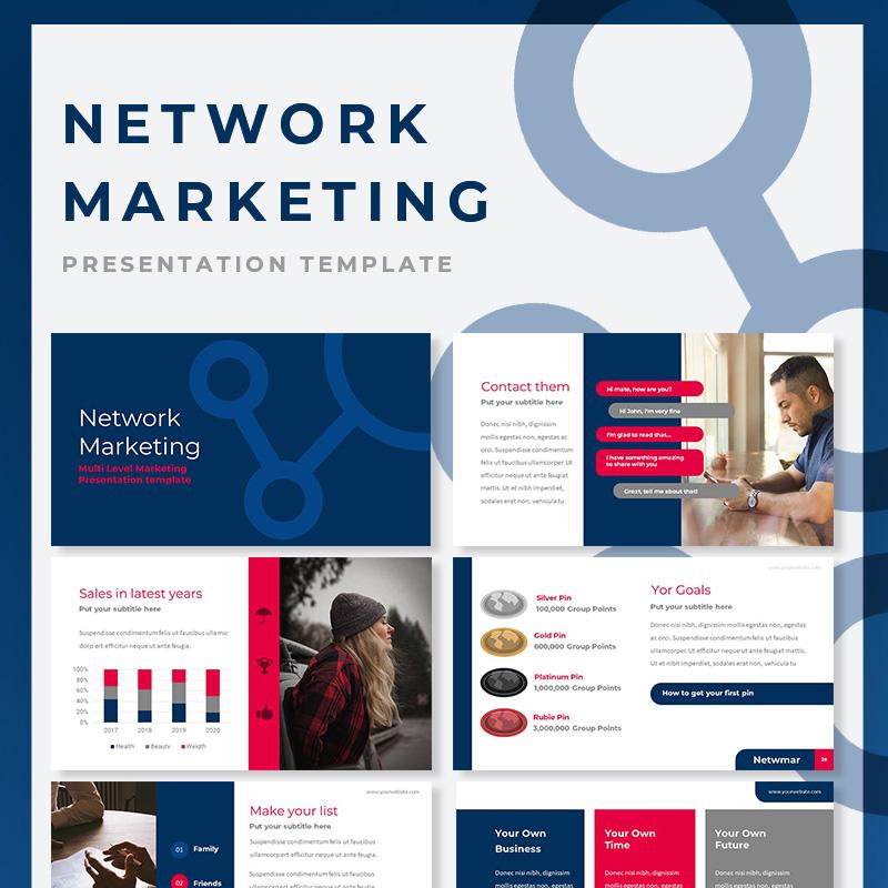 Network Marketing Google Slides