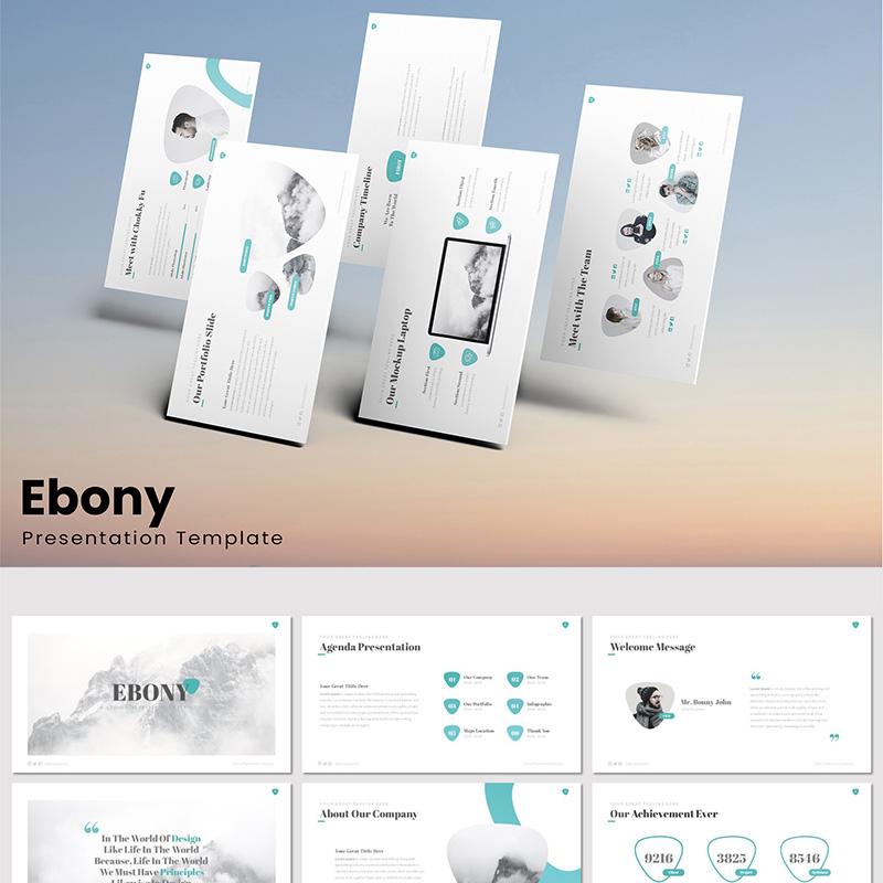 Ebony - Google Slides