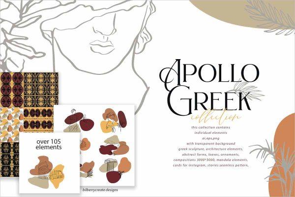 Apollo Greek collection