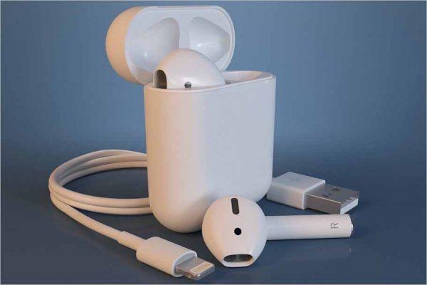 Apple AirPods 3D Print