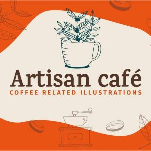 Artisan Cafe illustrations