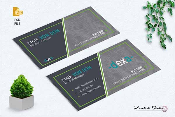 Best Fashion Business Card Template