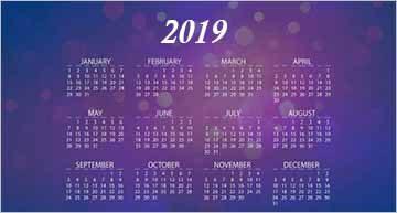 Calendar Mockups PSD Free Download