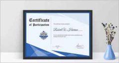 106+ Certificate Design Templates PSD