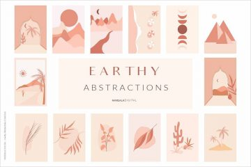 EARTHY Abstractions Prints