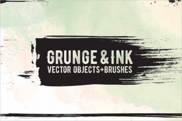 Ink Vector Brushes Shapes