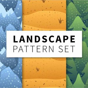 Landscape pattern set