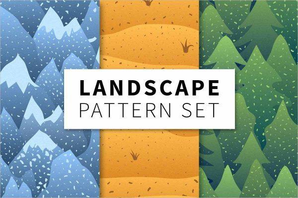 Landscape pattern set